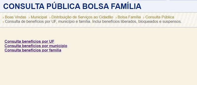 Portal do Bolsa Família Caixa